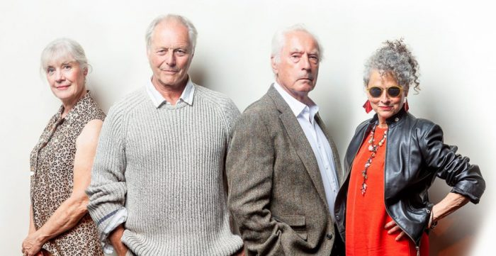 Left to Right: Catharine Humphrys, Graham Pountney, Nick Day and Hilary Townley