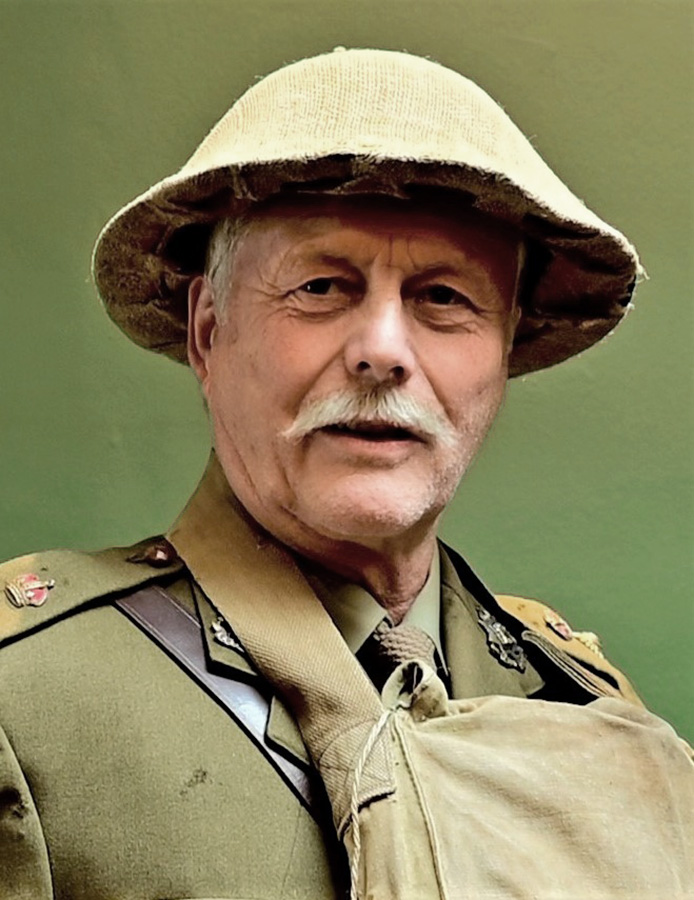 Graham as Colonel