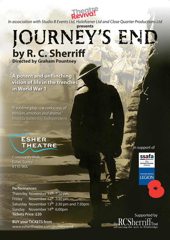 Journey's End, Esher Theatre, November 2021